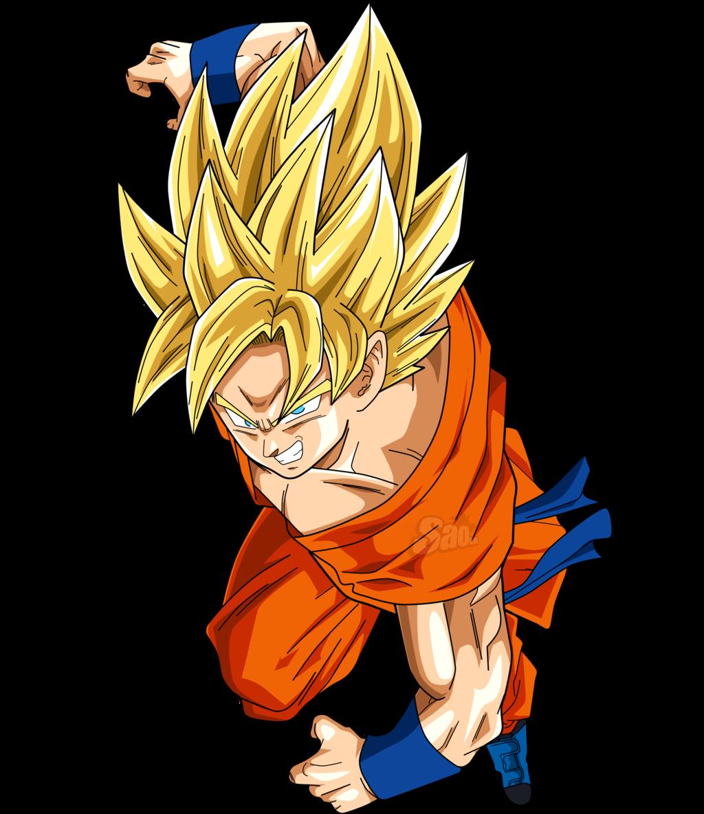Goku Ssj Tim Với Google Desenhos Adesivos Goku Anime