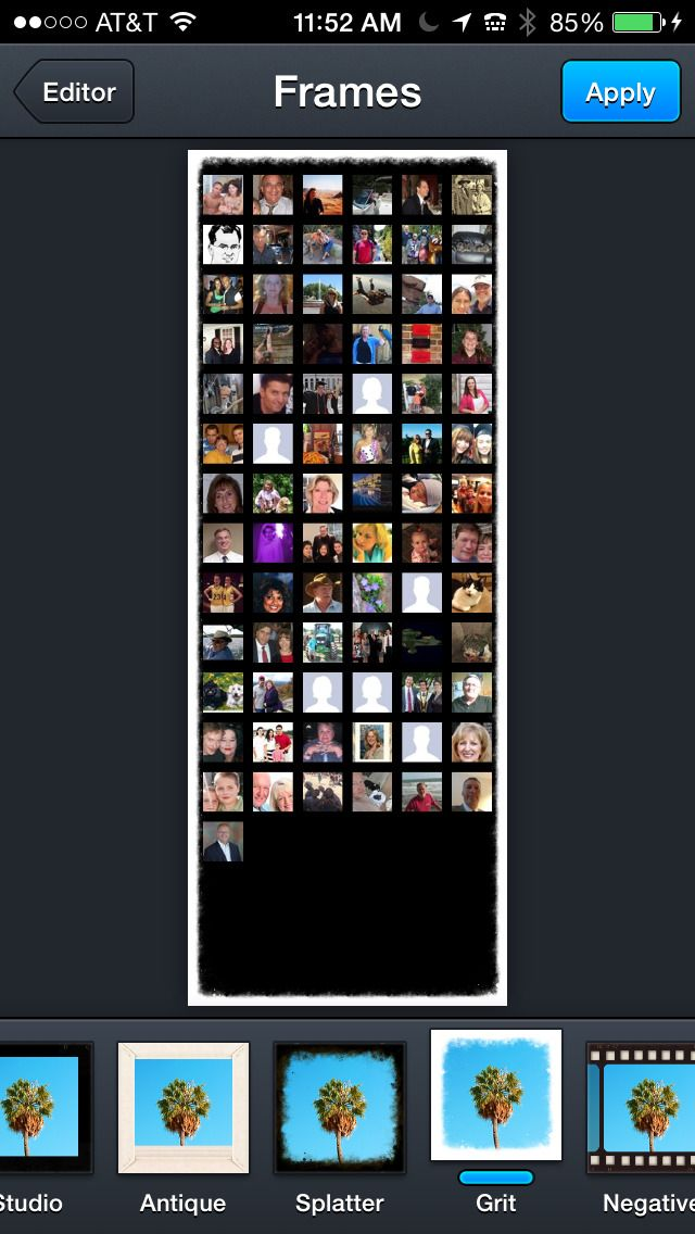 iPhone App Collage for Facebook **** 4 NOW FREE