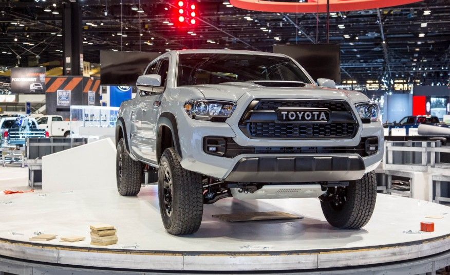 2017 Toyota Tacoma Trd Pro Off Road Ready Photo Gallery Of Auto