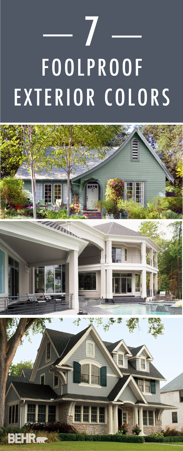 Exterior House Behr Exterior Paint Color Combinations