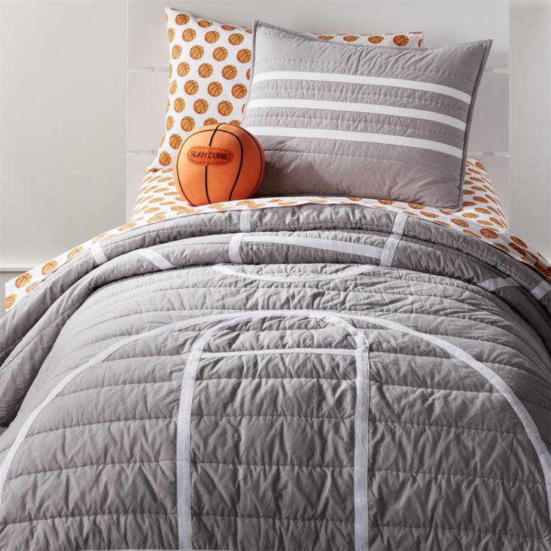 Basketball Themed Bedding Duvet Or Comforter Sets Comforter