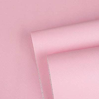 Pink Contact Paper Pink Wallpaper Solid Color Peel and