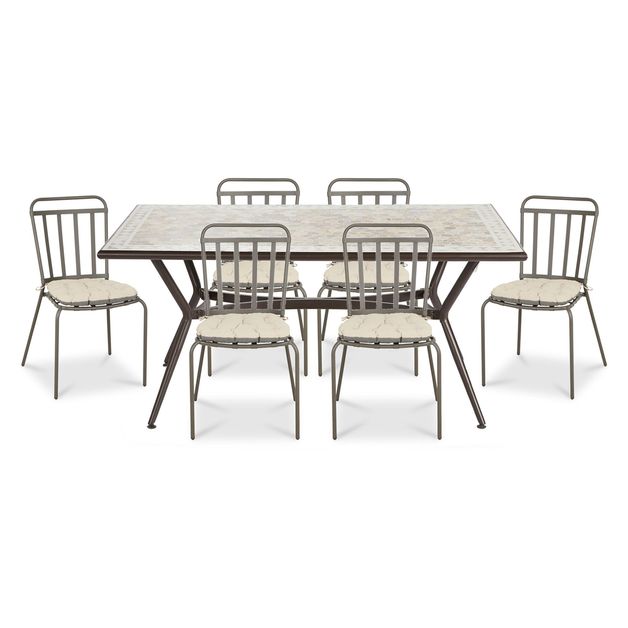 Sofia 6 Seater Dining Set B Q For All Your Home And Garden