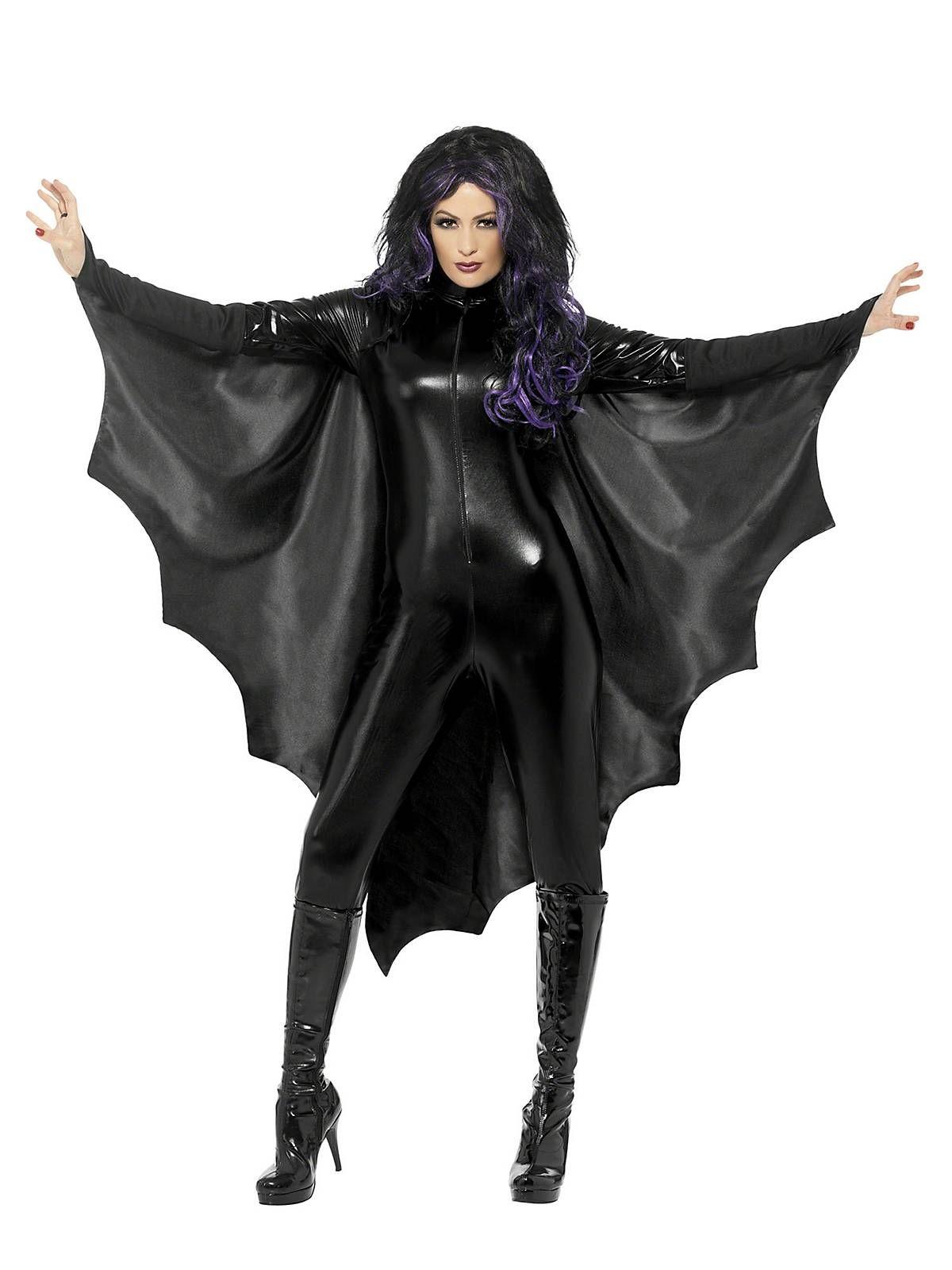 Bat Wings Headband Halloween Bats Fancy Dress Accessory Black