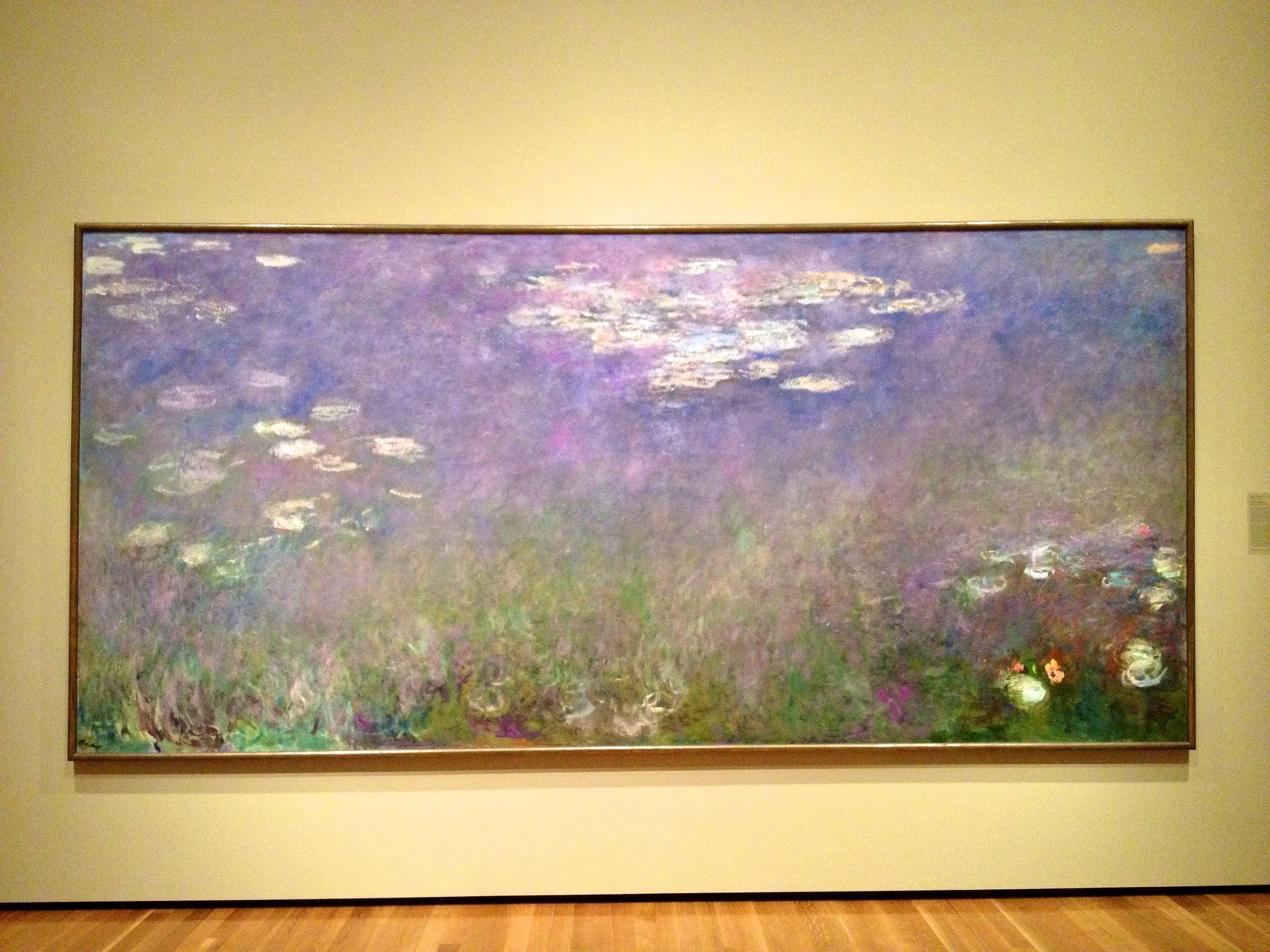 Cleveland Art Museum Monet Water Lilies