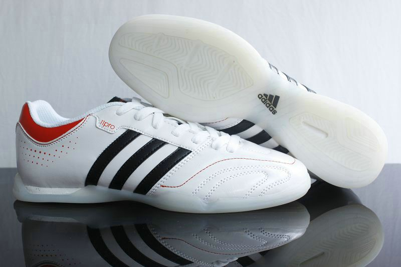Adidas Adipure 11Pro IC Indoor Soccer Shoes White Black Red