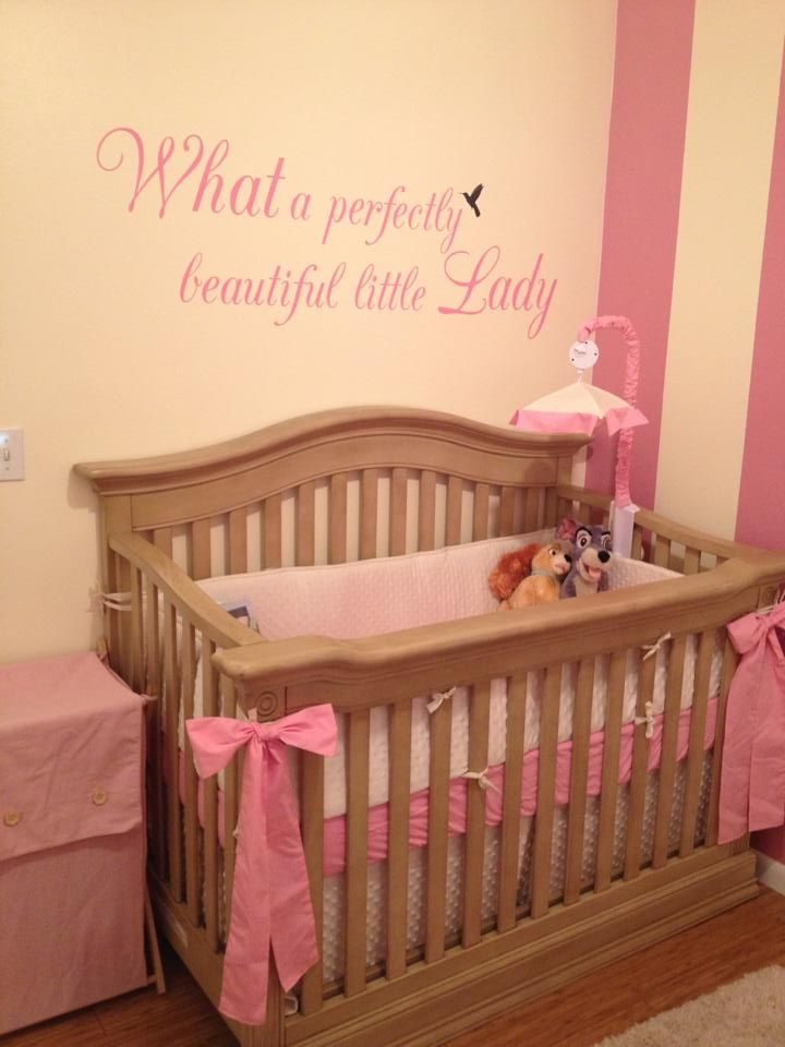 My Pretty Lady And The Tramp Crib Baby Bedroom Baby