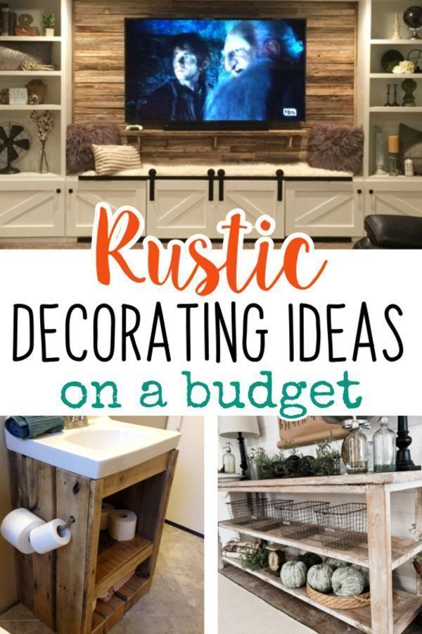 DIY Rustic Decorating Ideas on a Budget - Rustic Living ...