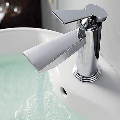 Bathroom Sink Faucets Contemporary Brass Chrome | BATHROOM SINK ...