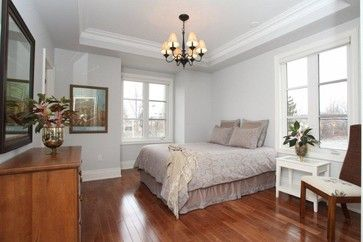 Luxury Town Home   Traditional   Bedroom   Toronto   MODE Painting Benjamin  Moore Wickham Gray. Ideal With Dark Floors And Dark Wood Furniture!