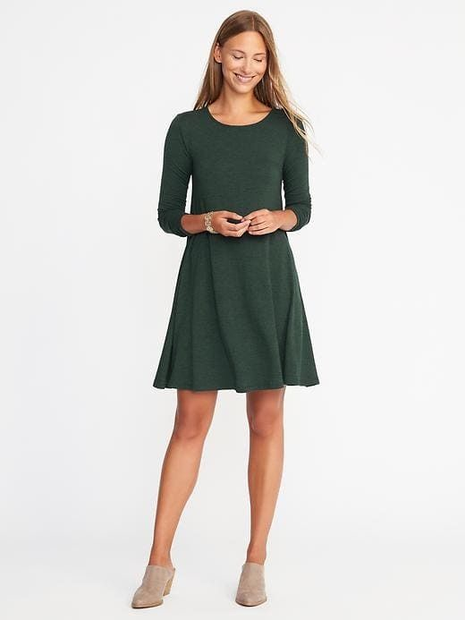 a9896155a775b6 Old Navy Textured-Knit Swing Dress for Women