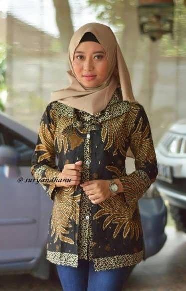 Model Baju Batik Kerja Guru