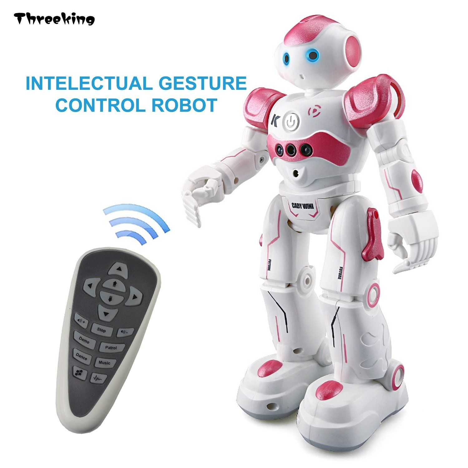 Smart Robot Toys Threeking Remote Control & Gesture Control Robot