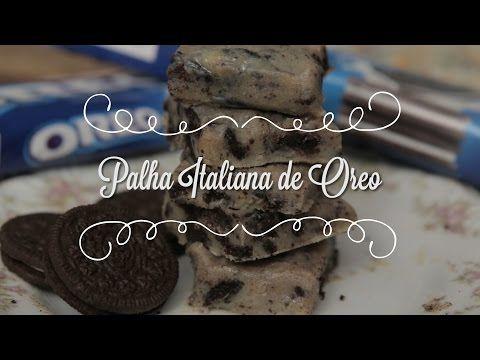 Palha Italiana de Oreo (feita sem fogão!) | Cozinha para 2 - YouTube