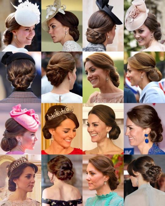 Favourite Photos Of Royal Hair Updos Kate Middleton Hair Duchess Kate Kate Middleton Hats