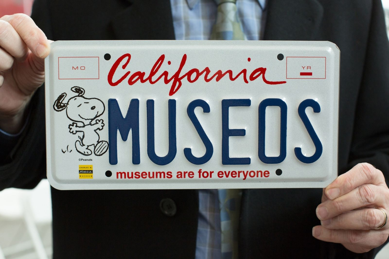 Snoopy License Plate — A new California license plate that will ...