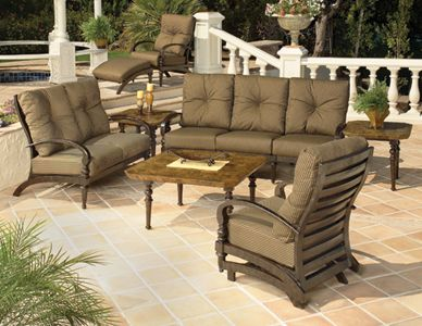 Westfield Is One Of The Most Popular Deep Seating Collections From Mallin.  The Timeless Collection Blends Strong Lines And Over Sized Cushions, ...