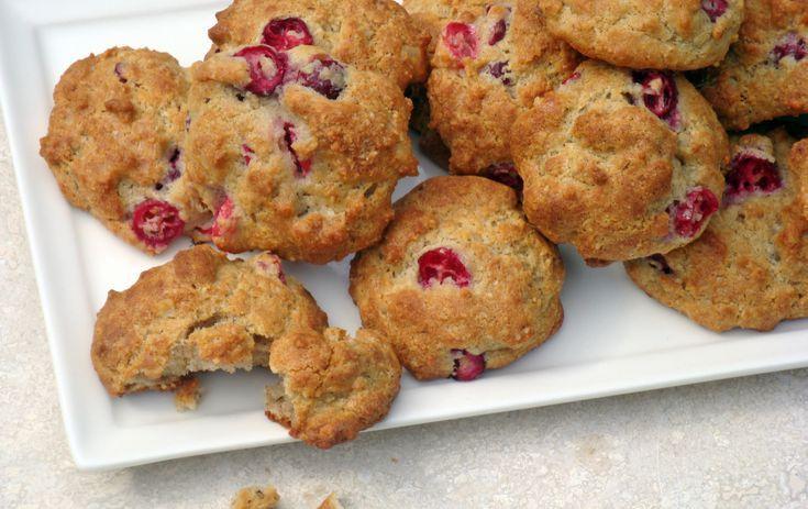 Low-Carb Sugar-Free Cranberry Walnut Cookies | Recipe ...