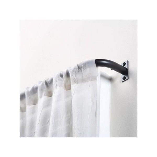 Mainstays Blackout Wrap Around Curtain Rod Walmart Com Wrap Around Curtain Rod Curtain Rods Curtains