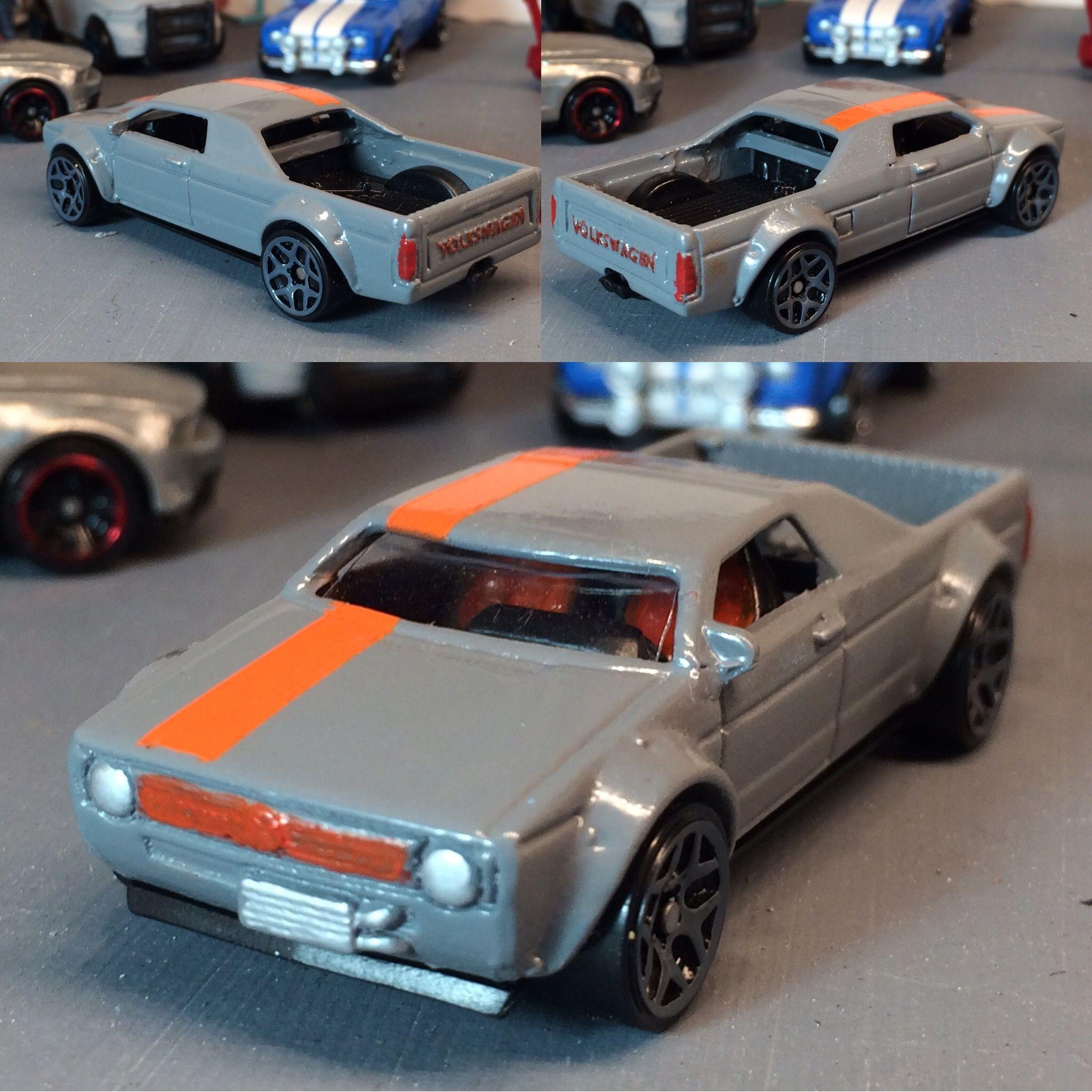 custom vw caddy hotrod diecast customs 1 64 scale. Black Bedroom Furniture Sets. Home Design Ideas