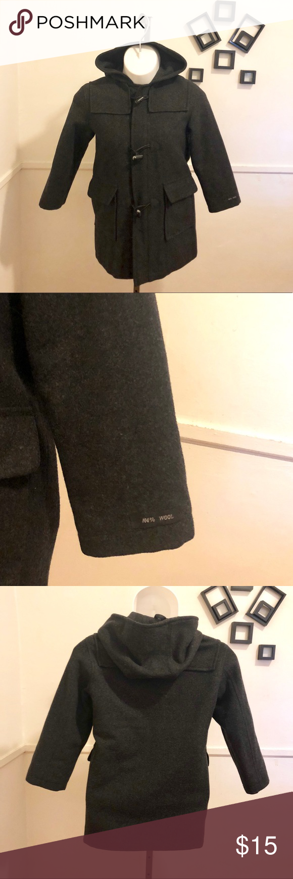 ‼️Sale‼️Preowned pea coat 100wool (With images) Wool