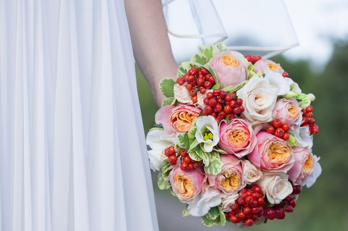 Average Cost Of Wedding Flowers Colorful Wedding Bouquet Wedding Flowers Wedding Flowers Cost