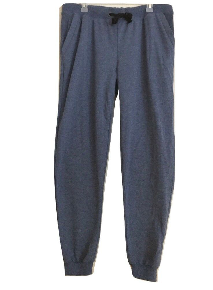 6b5bca364e CoCo Limon Plus Size 2X Womens Blue Fleece Jogger Drawstring Long ...