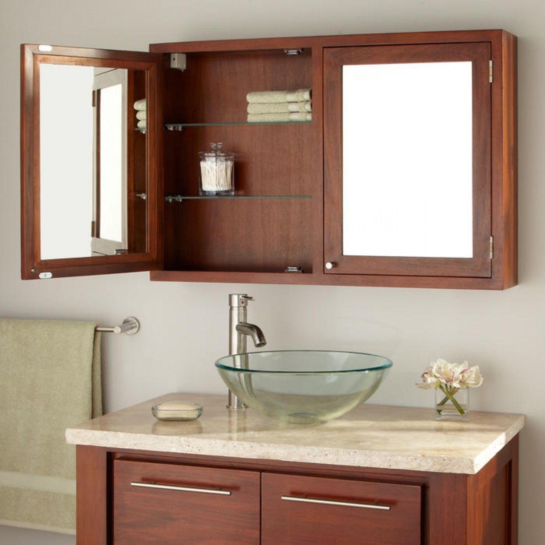 Small bathroom medicine cabinets 1 in hole saw