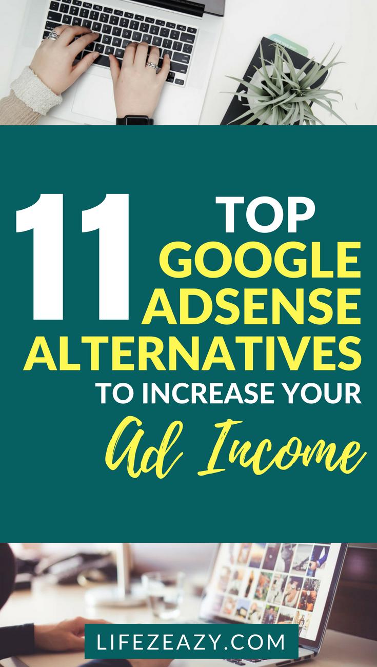 11 Kick Ass Best Google Adsense Alternatives 2018 Blogging For