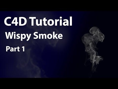 Creating Realistic Wispy Smoke in C4D With TFD - Lesterbanks