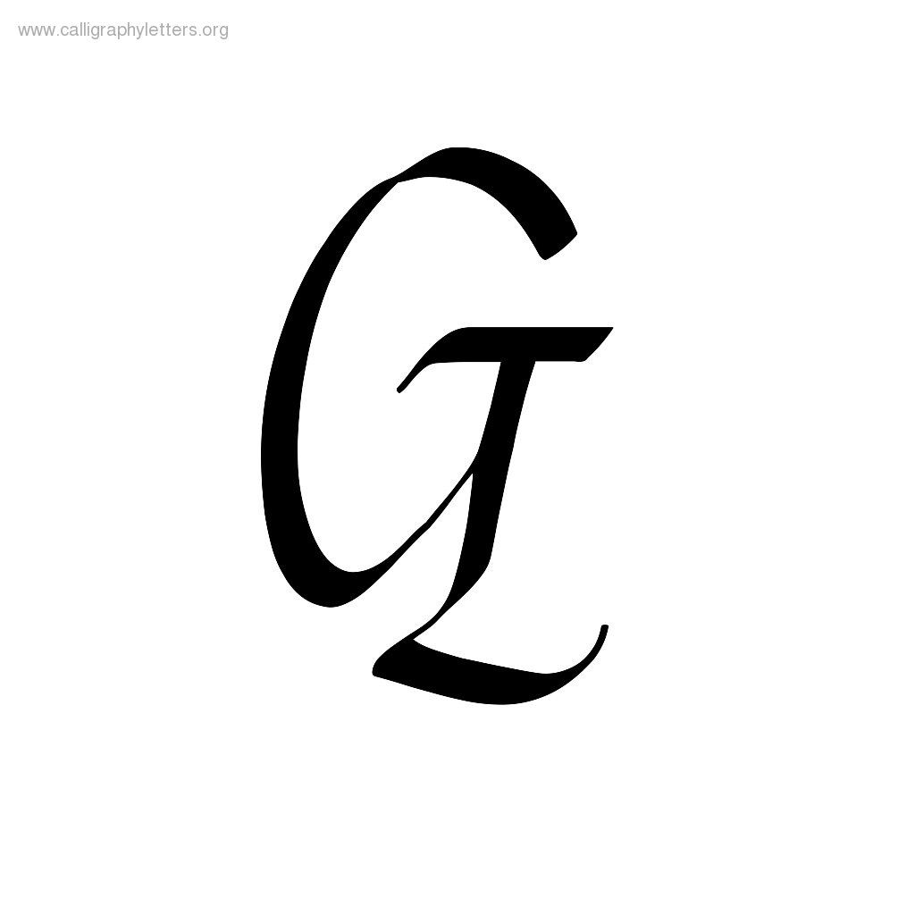 worksheet G Cursive fancy letter g crafti pinterest letters and casual chancery cursive a z calligraphy lettering styles to print