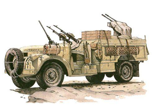 Long Range Desert Group Chevrolet