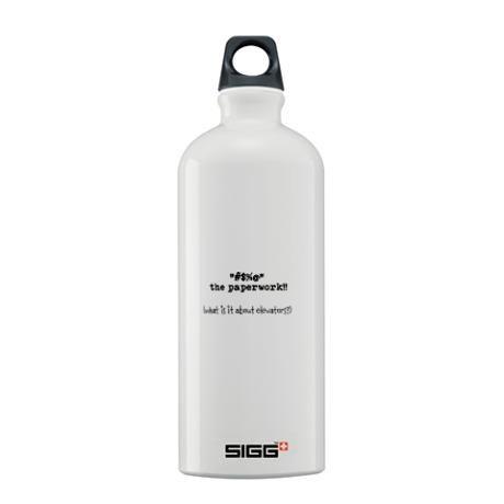 water bottle...