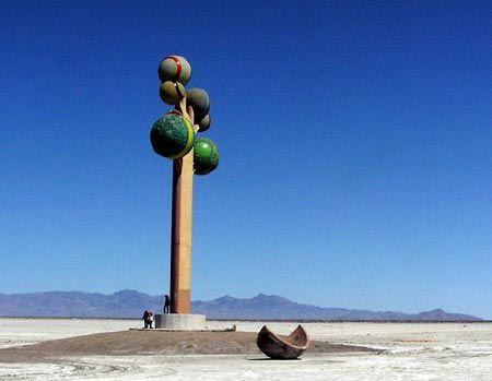 Metaphor: The Tree of Utah~passed this a little ways back in the Salt Lake Desert