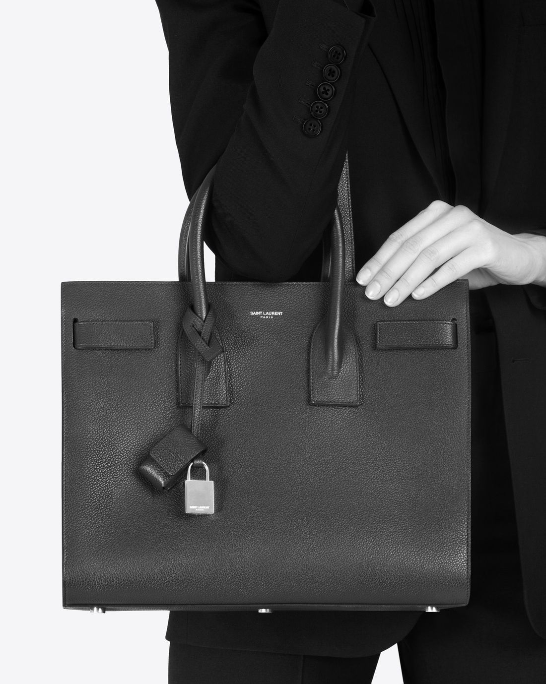 b84577165e Classic sac de jour small in grained leather in 2019   Boss lady ...