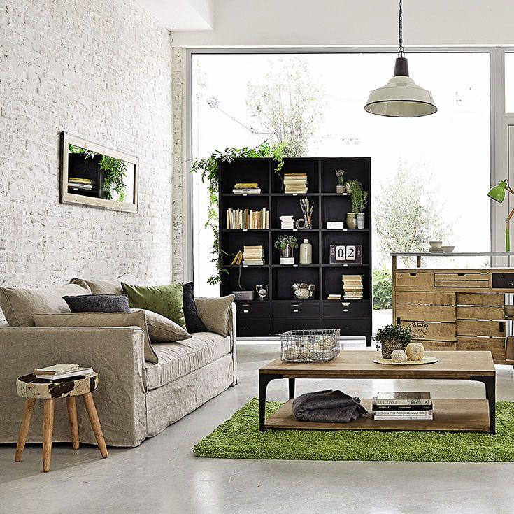 Muebles y decoraci n de interiores industrial maisons - Muebles le monde ...