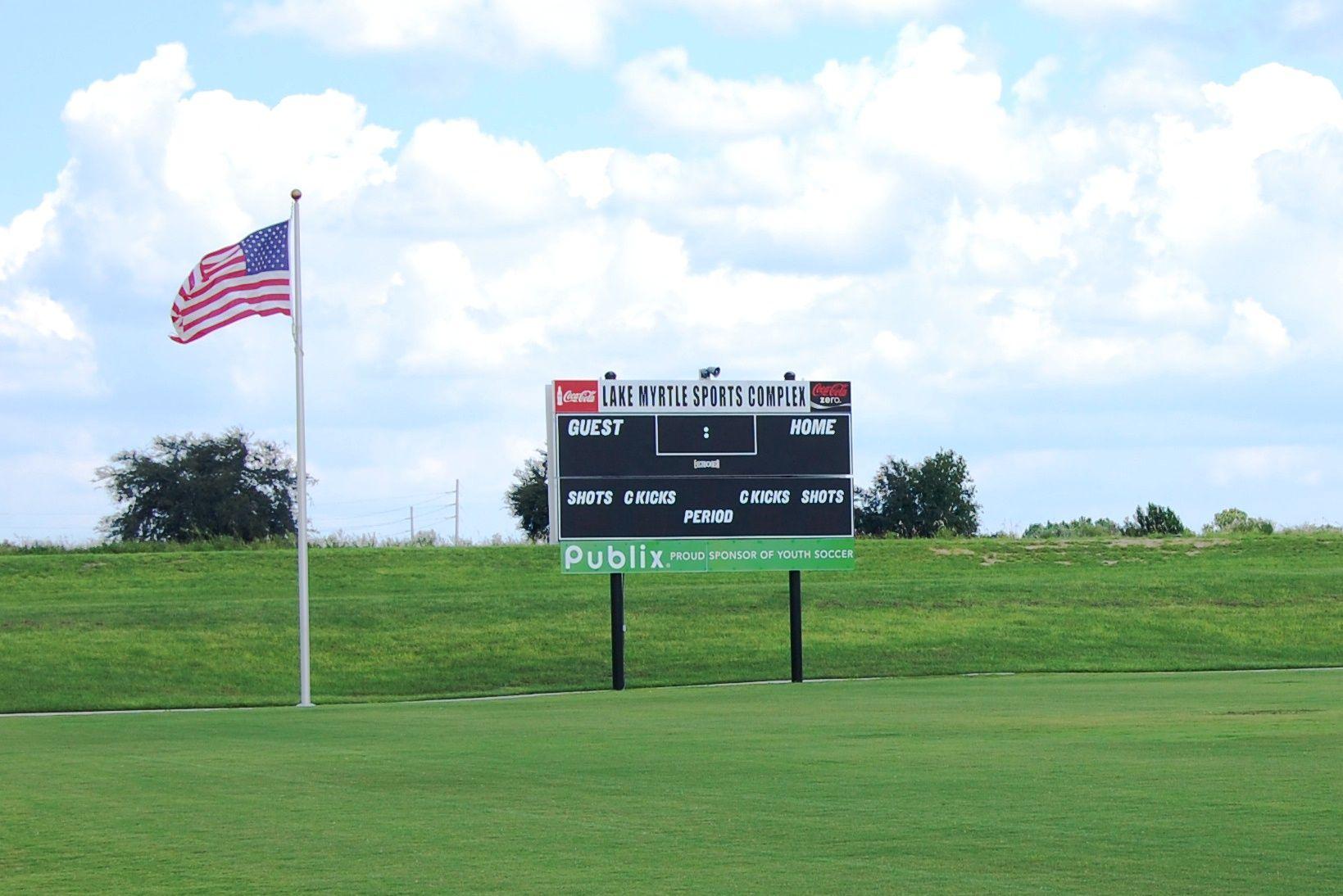 Lake Myrtle Sports Park in Auburndale, Florida
