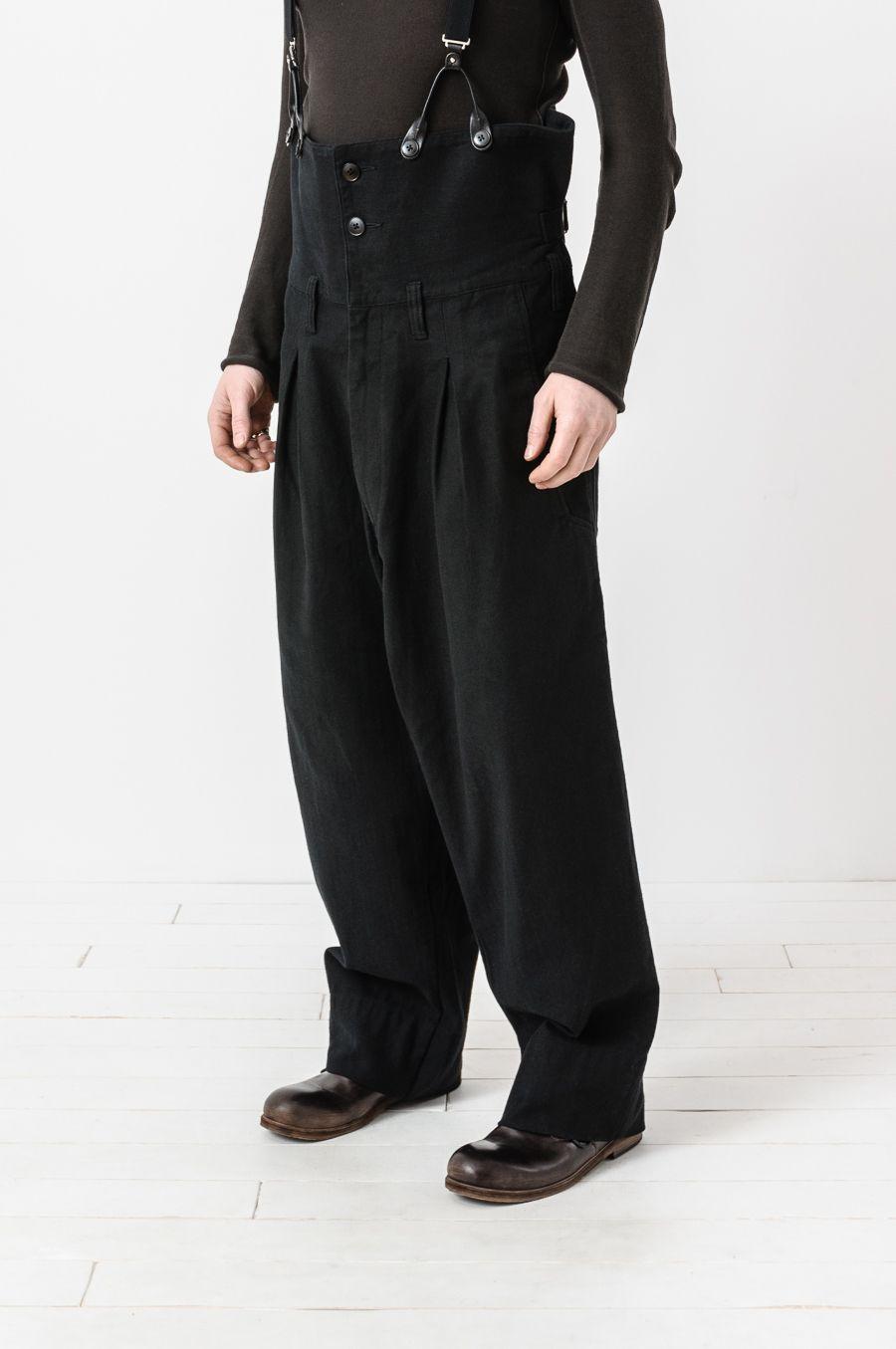 5986221813680 Yohji Yamamoto - high waisted adjustable wide leg trouser   經典 ...