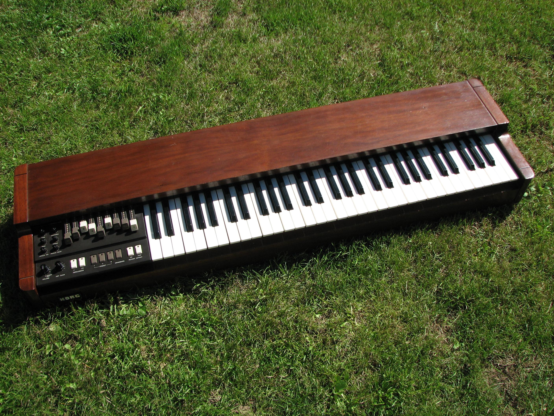 The original Korg CX-3  A single-manual drawbar organ that sounded