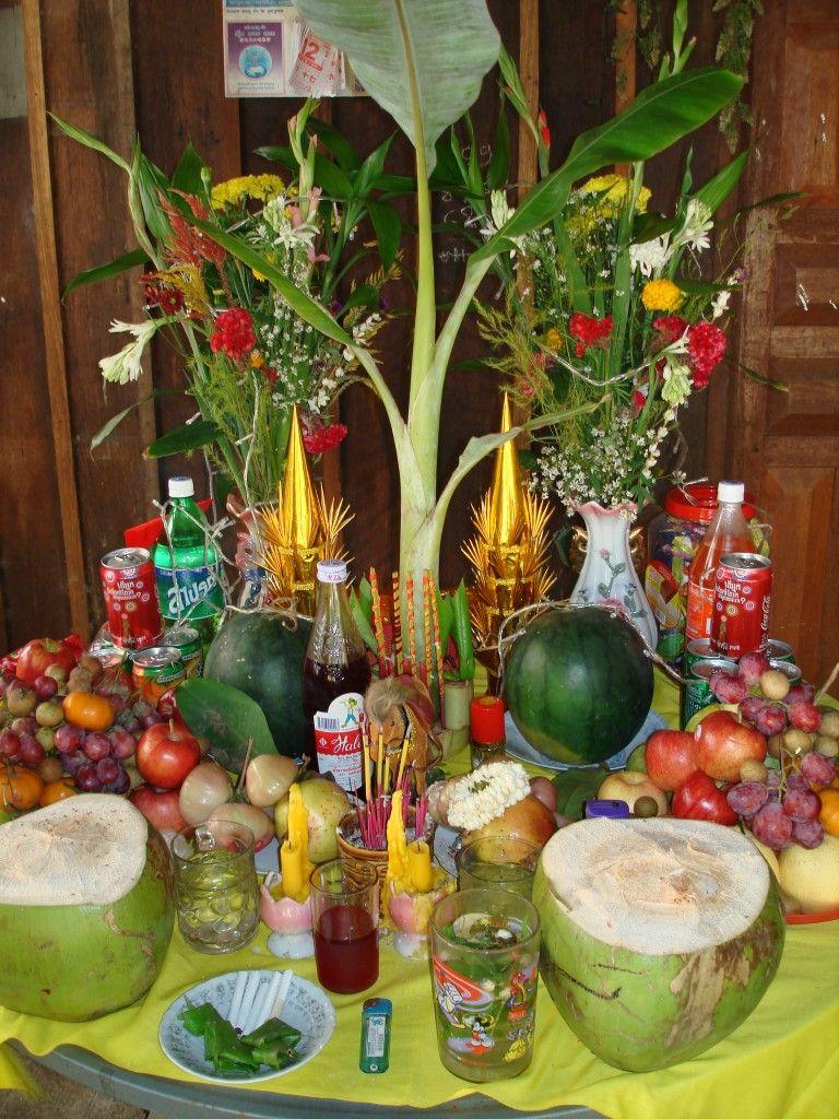 Filipino table setting - Traditional Cambodia Table Setting Cerca Con Google