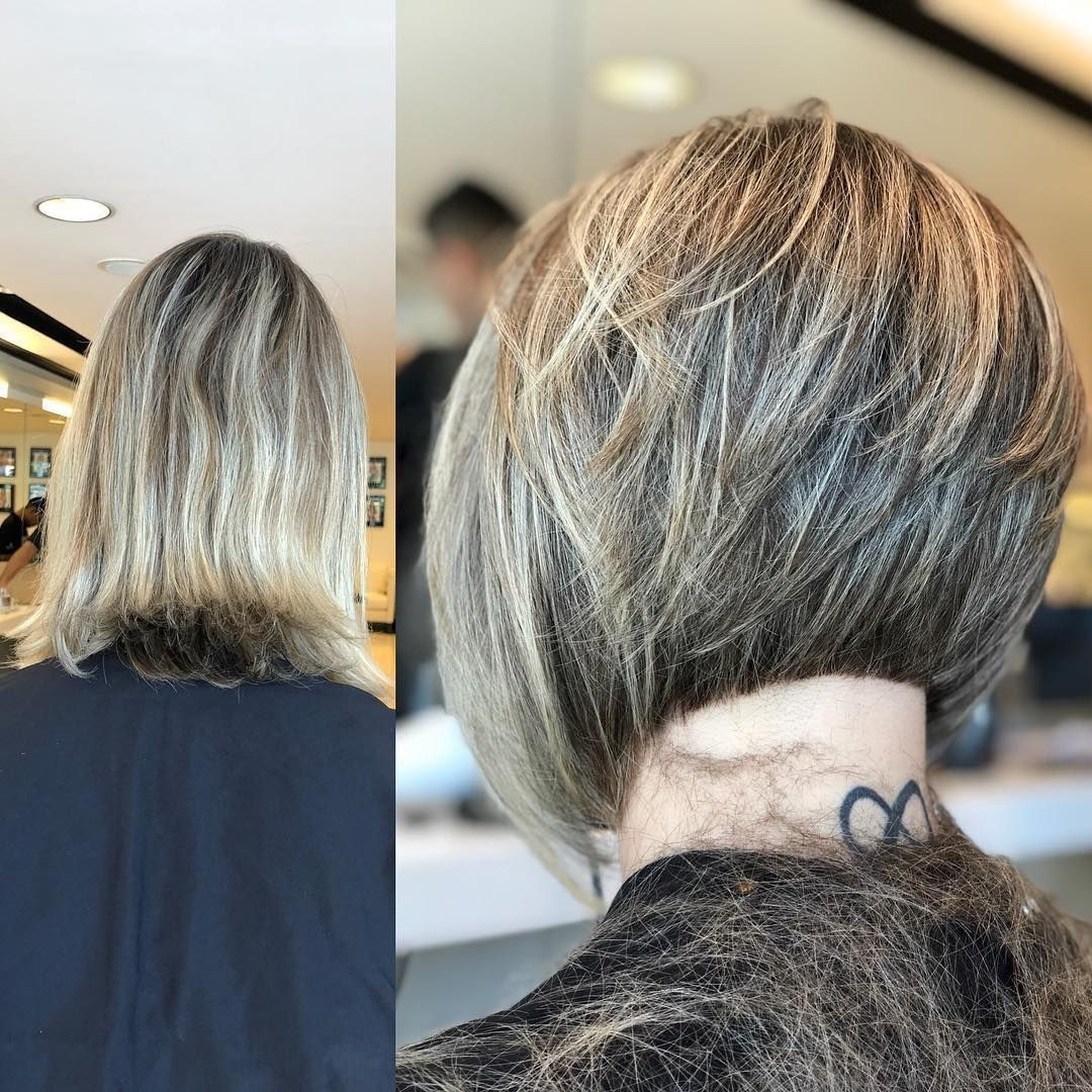 Pin By Kim Nuyttens On New Hair Ideas In 2020 Graduated Bob Haircuts Short Layered Haircuts Bob Hairstyles