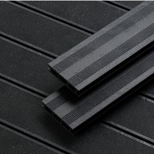 Rothley Terra Black Composite Decking Pack Of 10