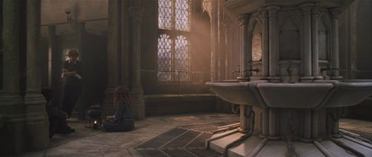 Girls' Second Floor Bathroom   Moaning myrtle, Chamber of ...