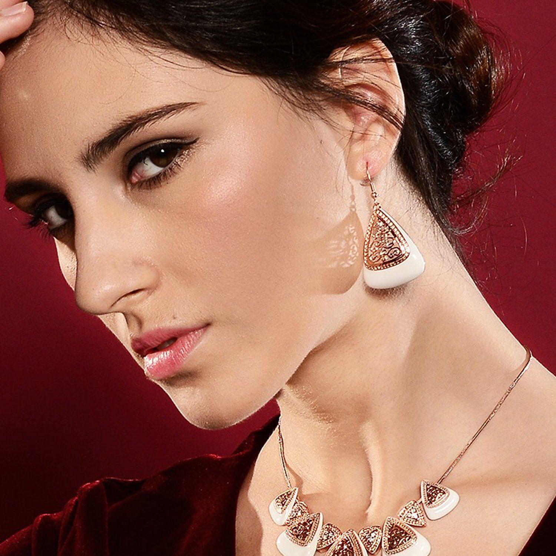 Kemstone Vine Drop Dangle Earrings GPpe0Yy