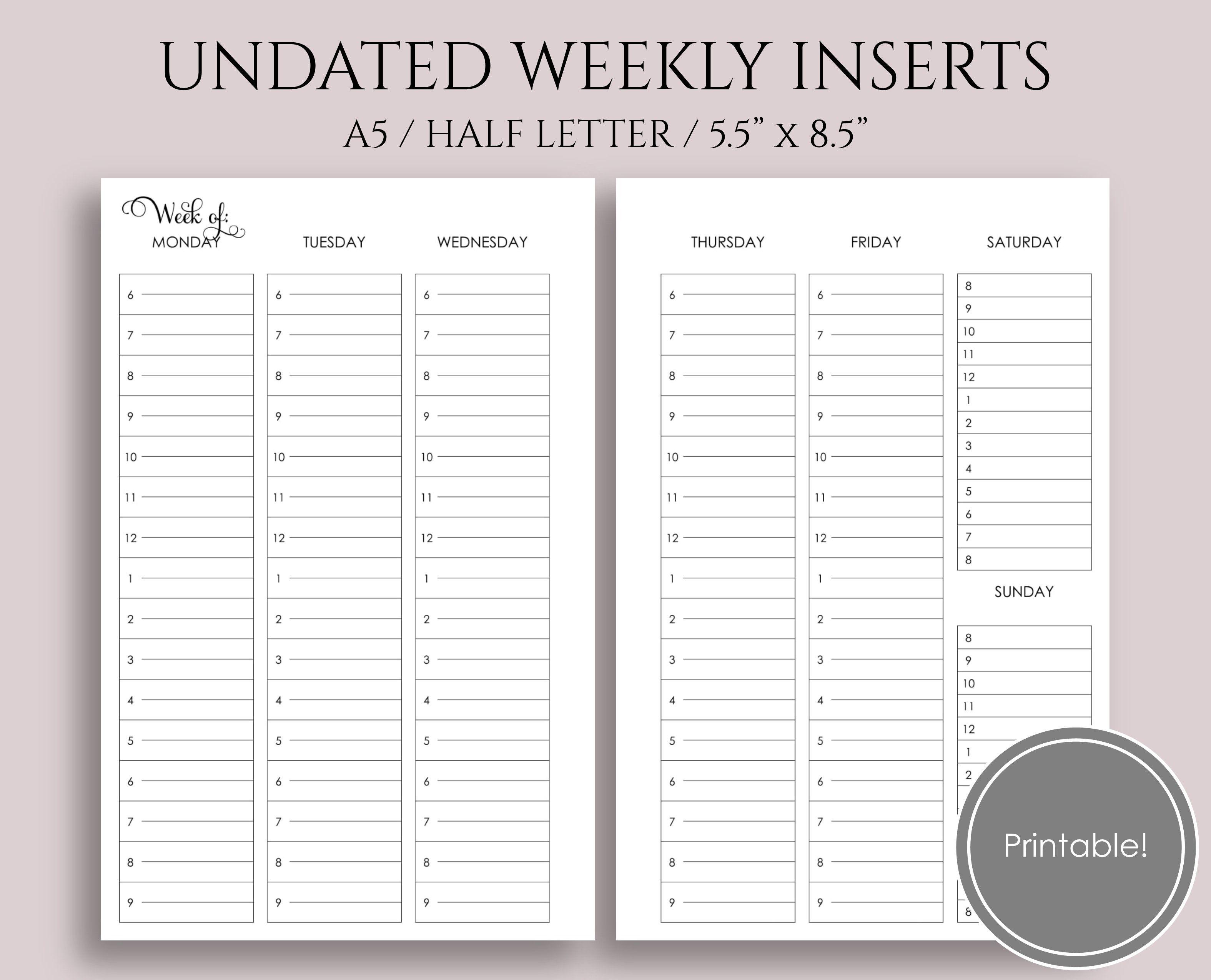 Free Planner Printable Library Planner Printables Free Weekly