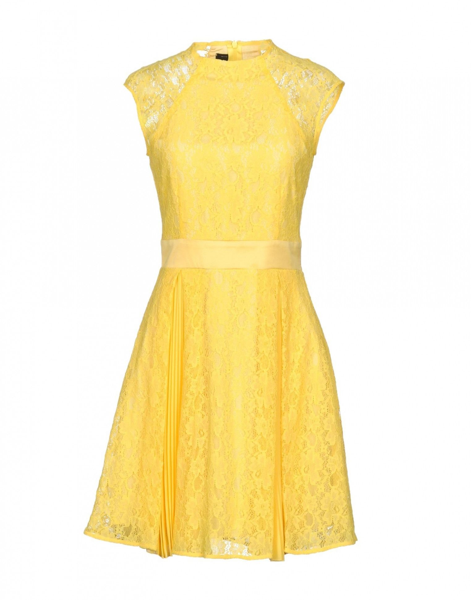 3 Kleid Gelb Spitze in 3  Kleider, Gelb, Abendkleid
