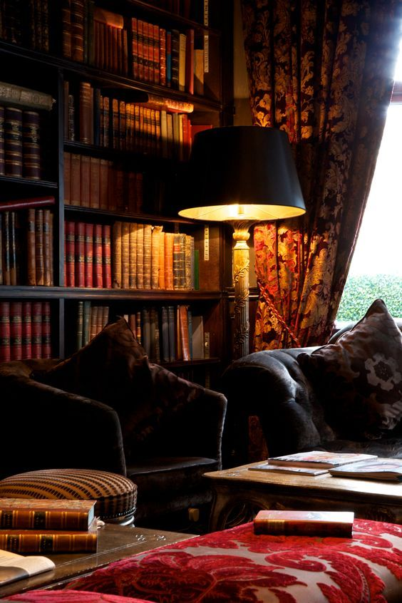 Luxury Home Library Design: Lush Library Feel, Home Away From Home