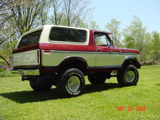Color Combination Ford Bronco Old Bronco Bronco