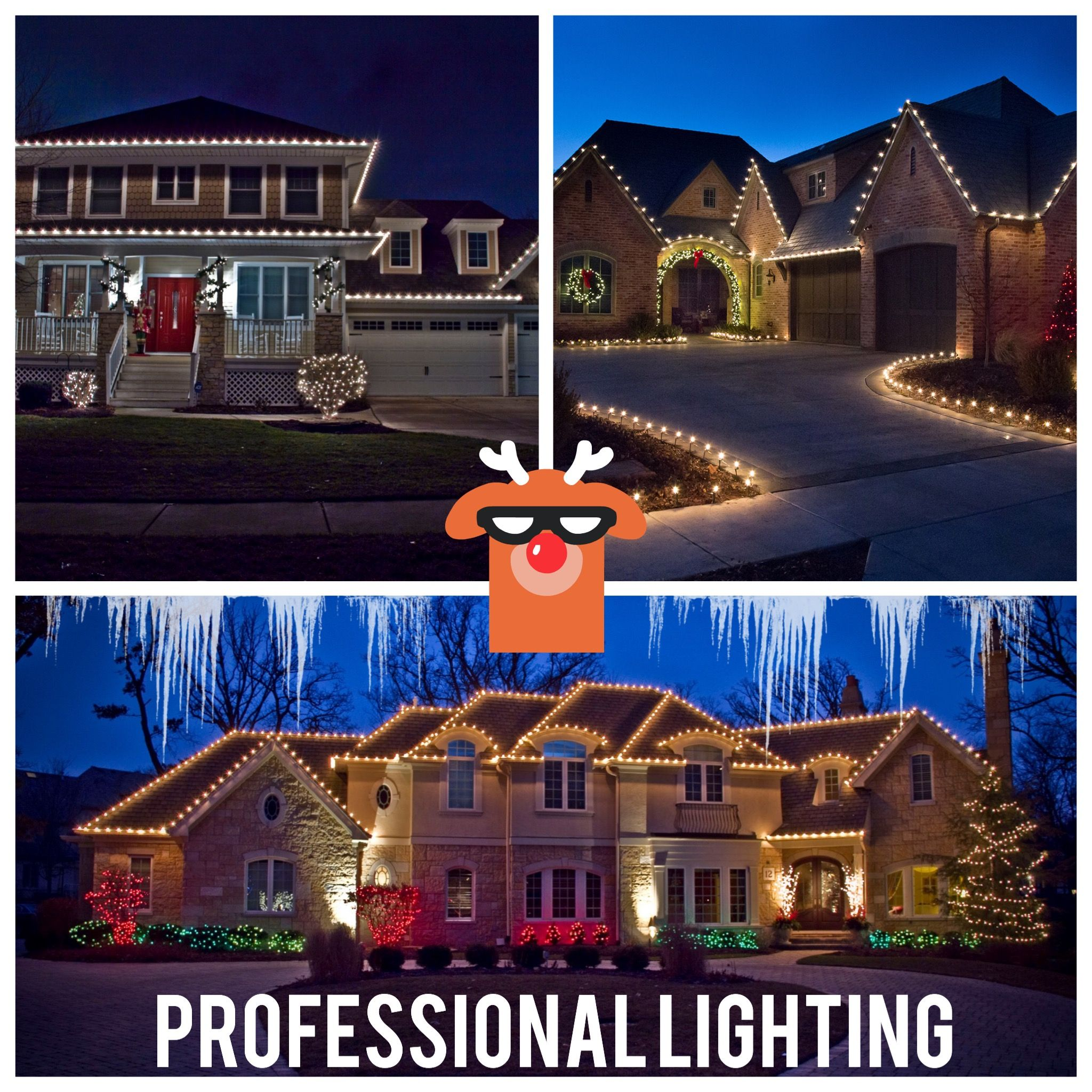 Northwest arkansas professional christmas light installation also on  story home house rh pinterest