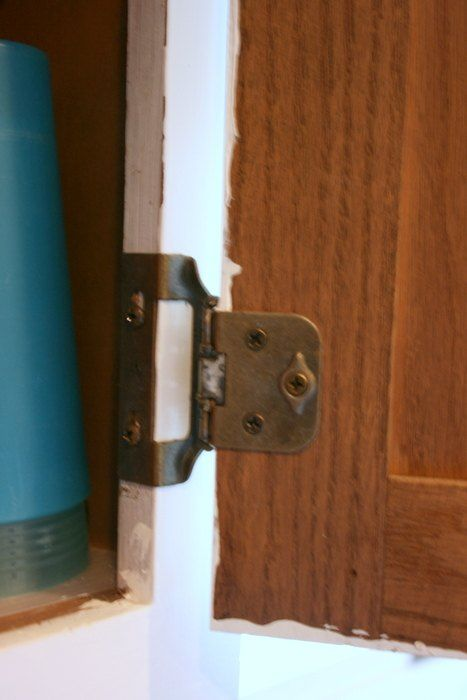 How To Install Overlay Or Hidden Cabinet Hinges Kitchen